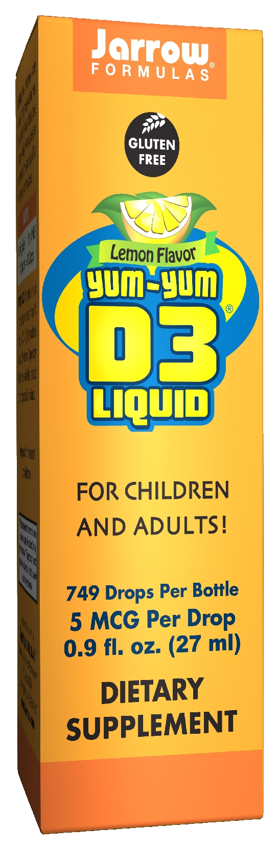 Yum-Yum D3 Liquid 0.9 fl oz (27 ml) by Jarrow Formulas (expires 03/2015)