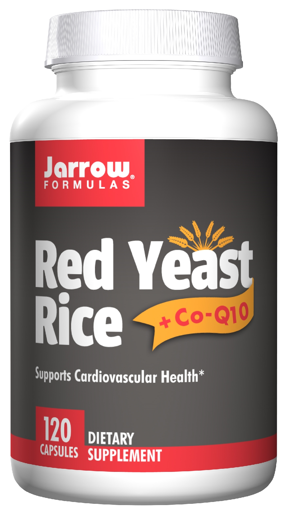 Red Yeast Rice + Co-Q10 120 caps by Jarrow Formulas