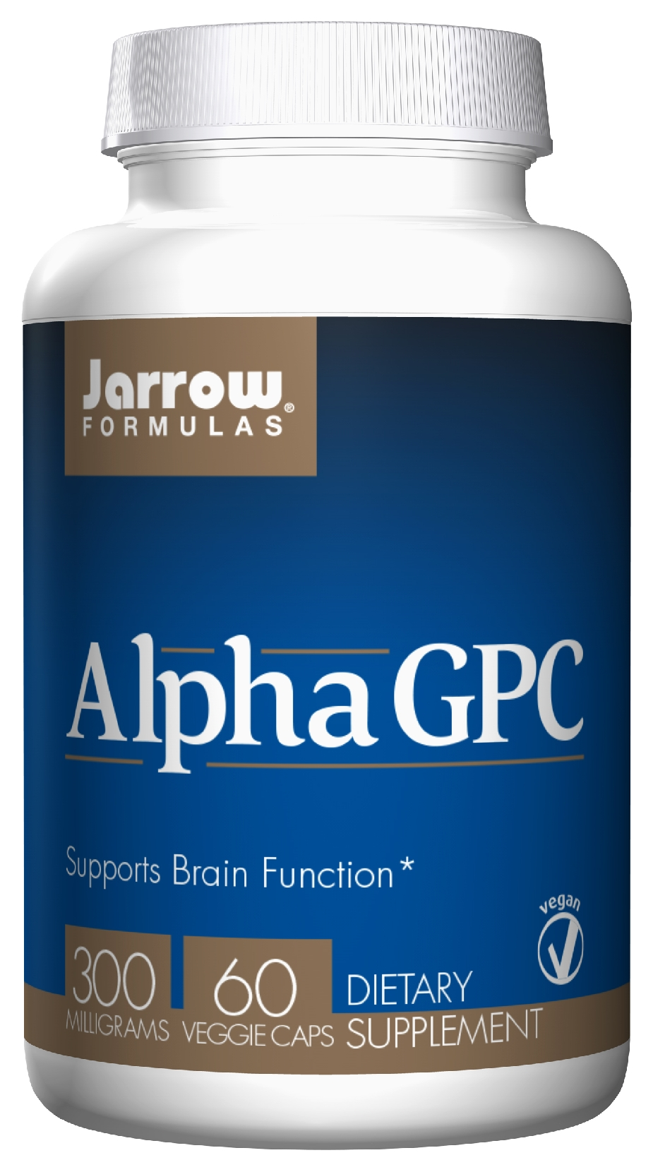 Alpha GPC 300 mg 60 Vegetarian caps by Jarrow Formulas