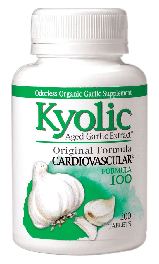Formula 100 Aged Garlic Extract Cardiovascular 200 caps by Kyolic