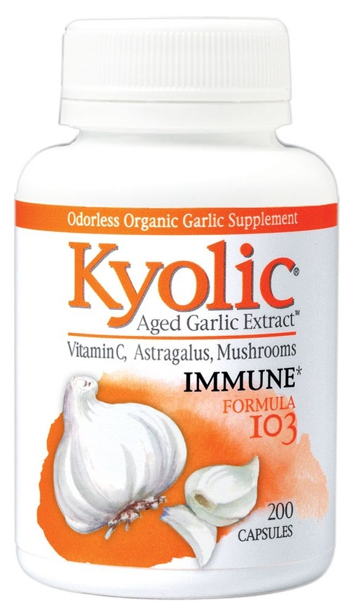 Formula 103 Aged Garlic Extract Immune 200 caps by Kyolic