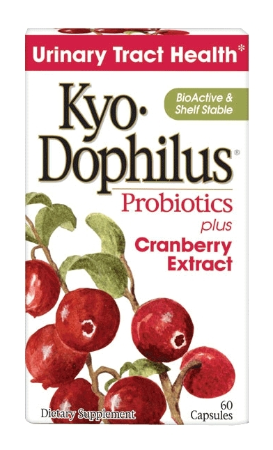 Kyo-Dophilus Probiotics with Cranberry Extract 60 Caps by Kyolic