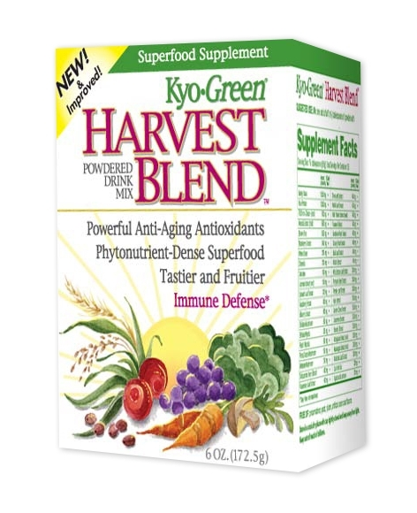 Kyo-Green Harvest Blend Powdered Drink Mix 6 oz (172.5 g) by Kyolic