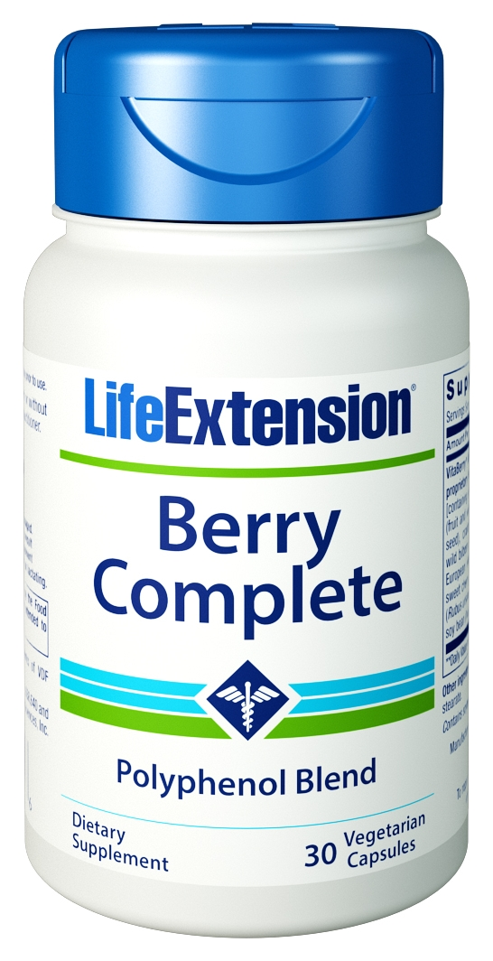 Berry Complete High-ORAC Complex 30 Vegetarian Caps by Life Extension
