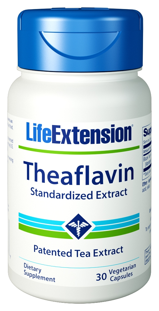 Theaflavin Standardized Extract 30 Vegetarian Caps by Life Extension