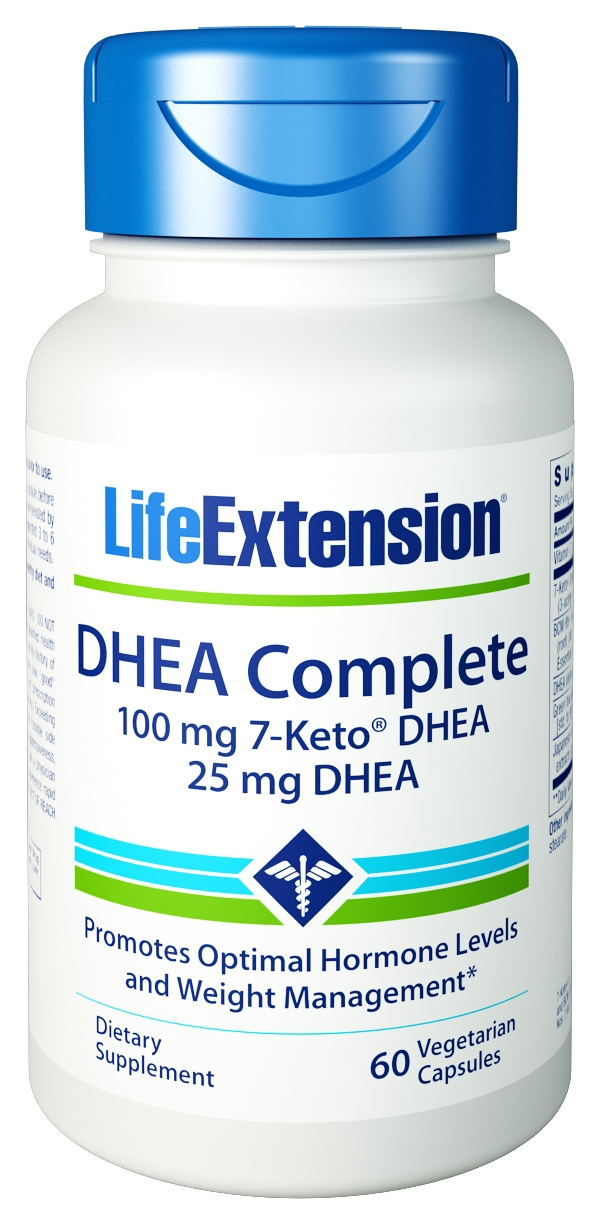 DHEA Complete 60 Vegetarian Caps by Life Extension
