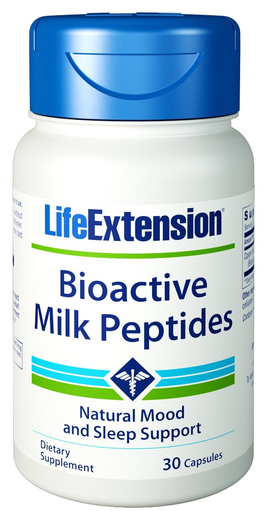 Bioactive Milk Peptides 30 caps by Life Extension