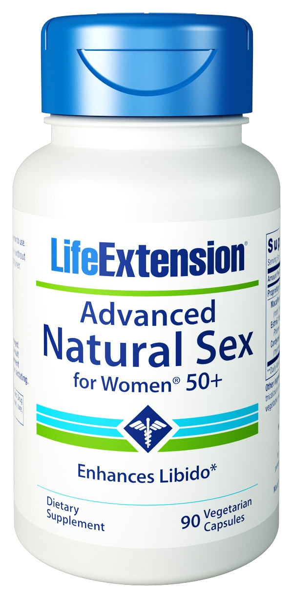 Advanced Natural Sex for Women 50+ 90 Vegetarian caps by Life Extension