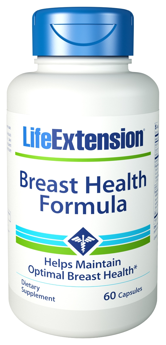 Breast Health Formula 60 Vegetarian Caps by Life Extension