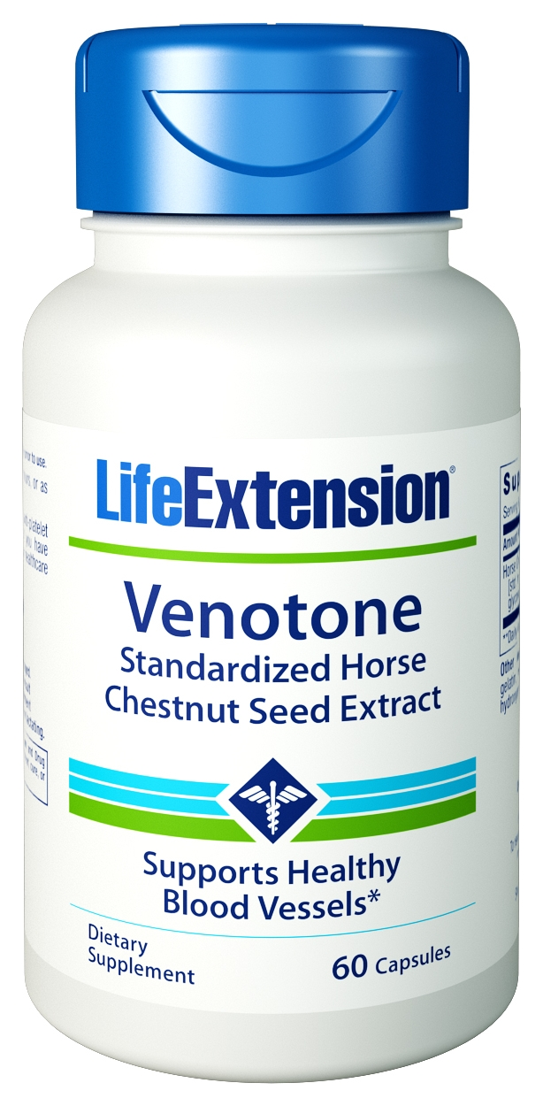 Venotone 60 Sustained Release Caps by Life Extension