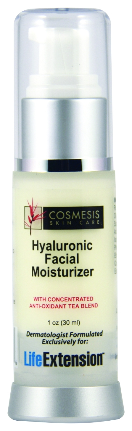 Hyaluronic Oil-Free Facial Moisturizer 1 oz by Life Extension