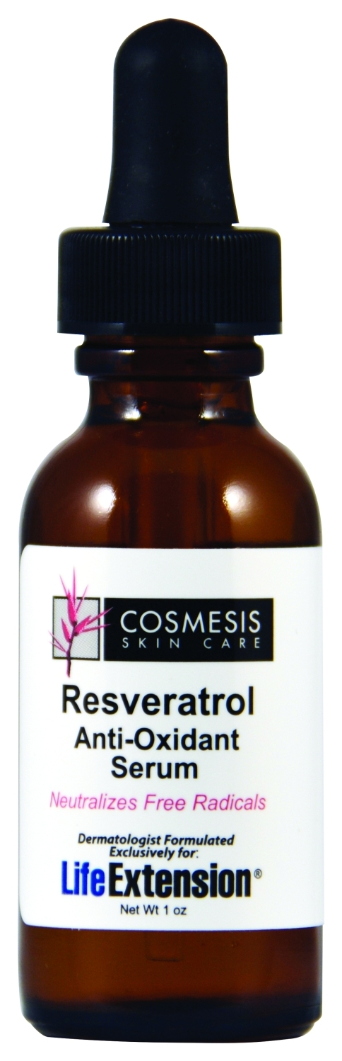 Resveratrol Anti-Oxidant Serum 1 oz by Life Extension