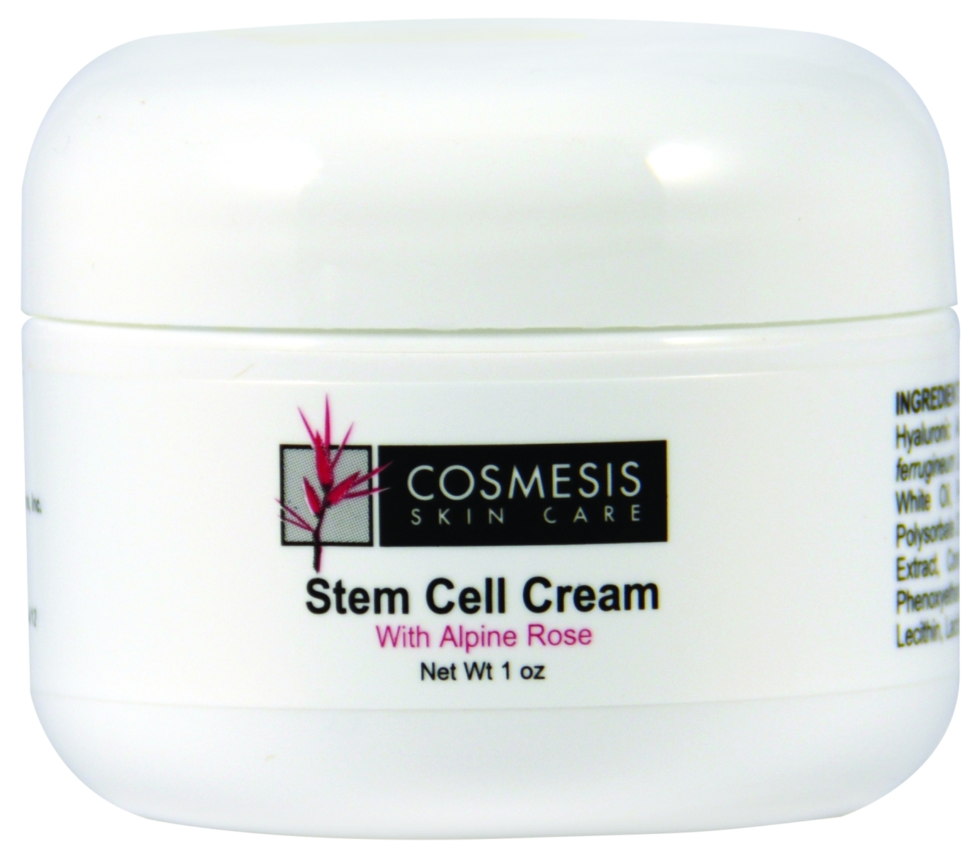 Stem Cell Cream with Alpine Rose 1 oz  (30 ml) by Life Extension