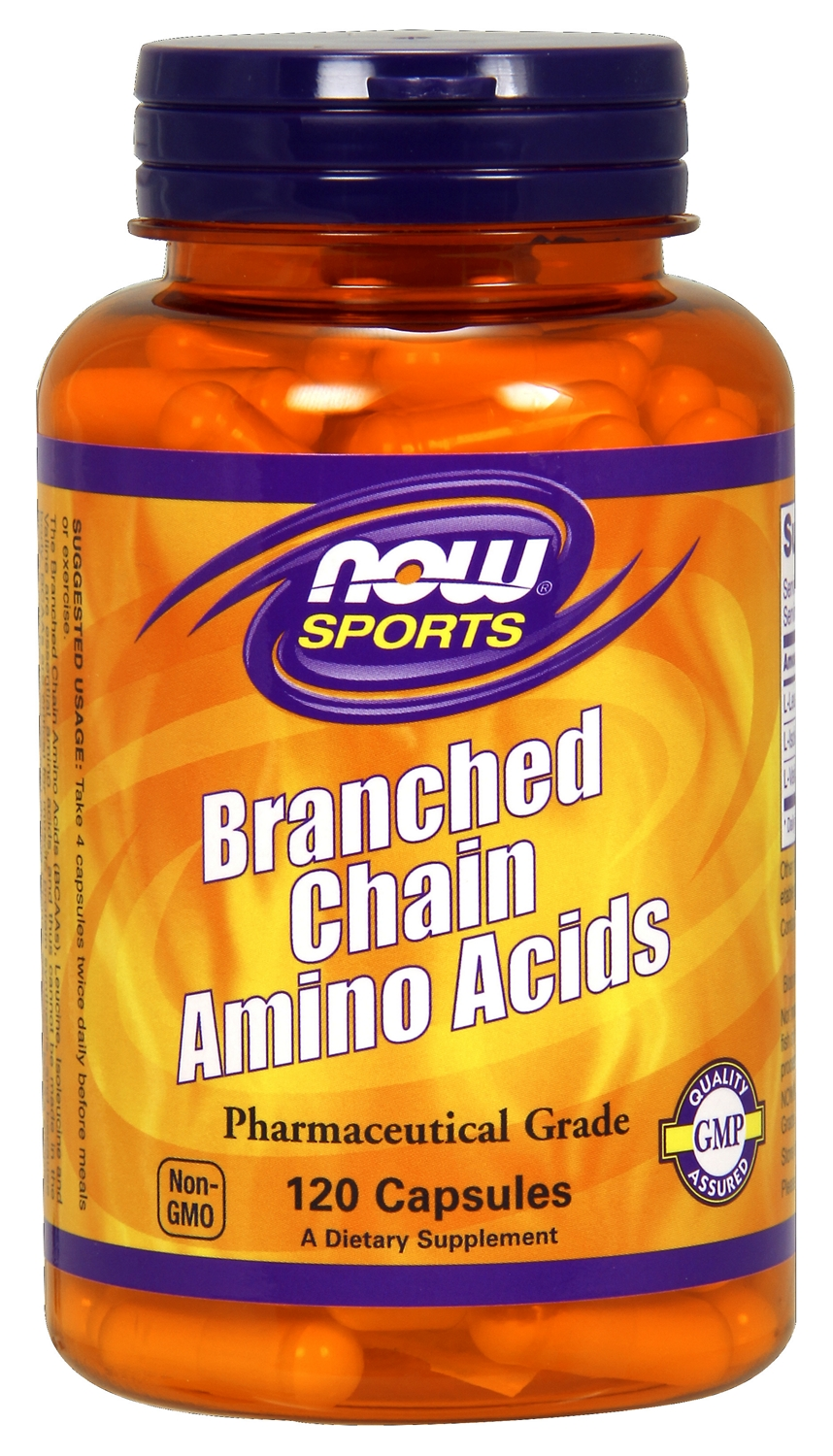 Branched Chain Amino Acids 120 caps by NOW