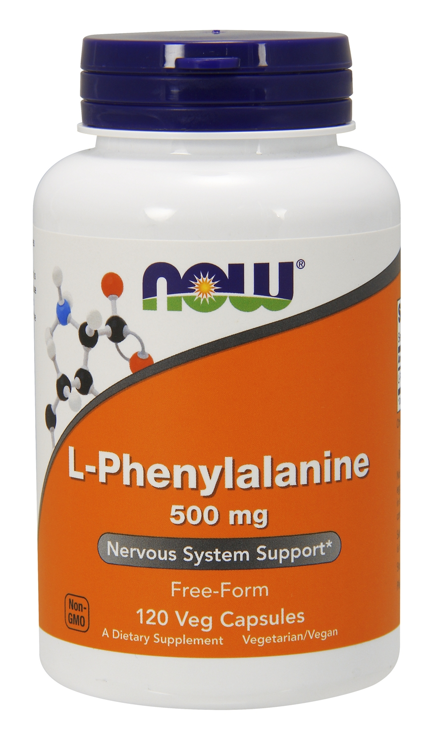 L-Phenylalanine 500 mg 120 caps by NOW