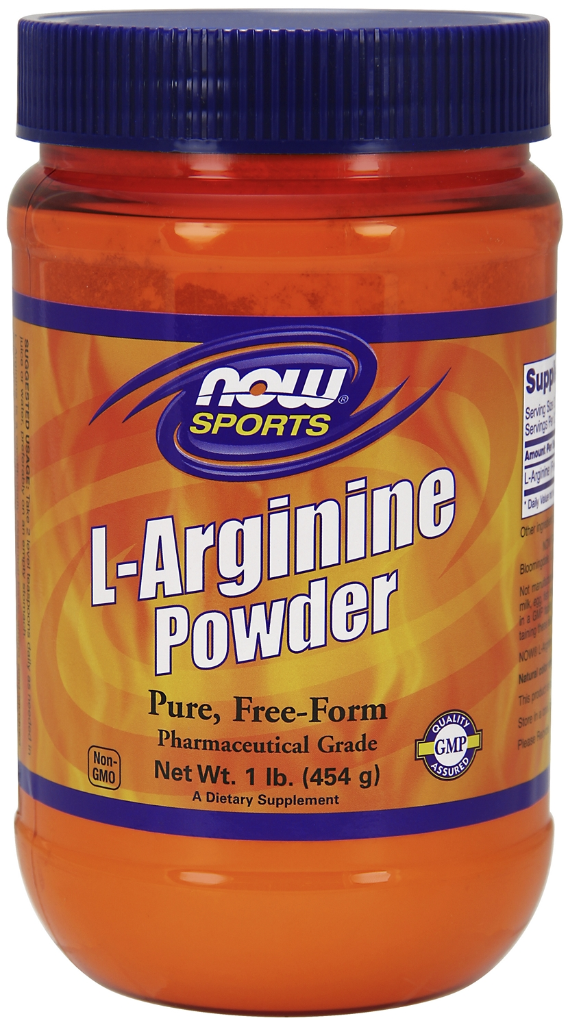 L-Arginine Powder 1 lb (454 g) by NOW