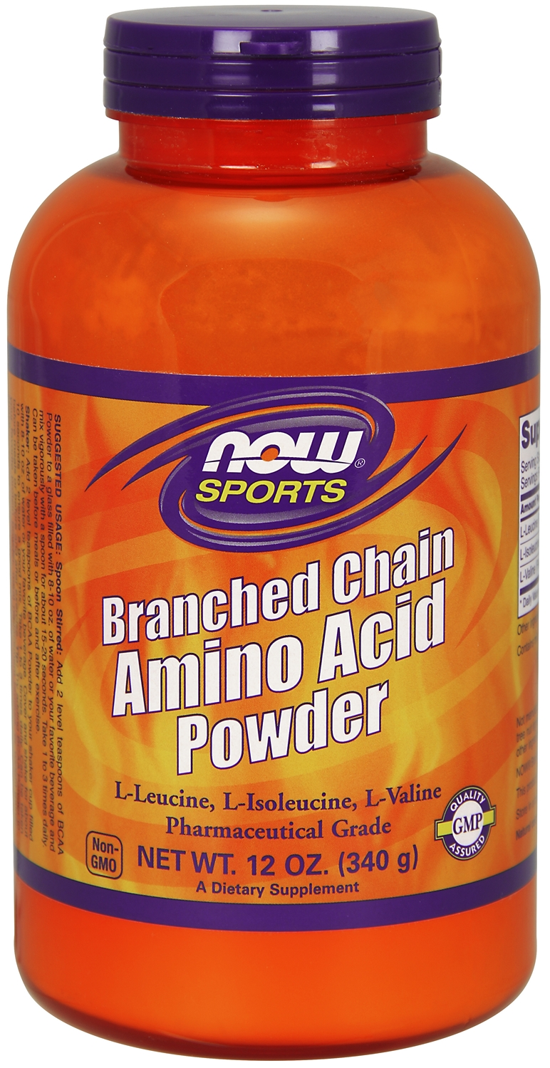 Branched Chain Amino Acid Powder 12 oz (340 g) by NOW
