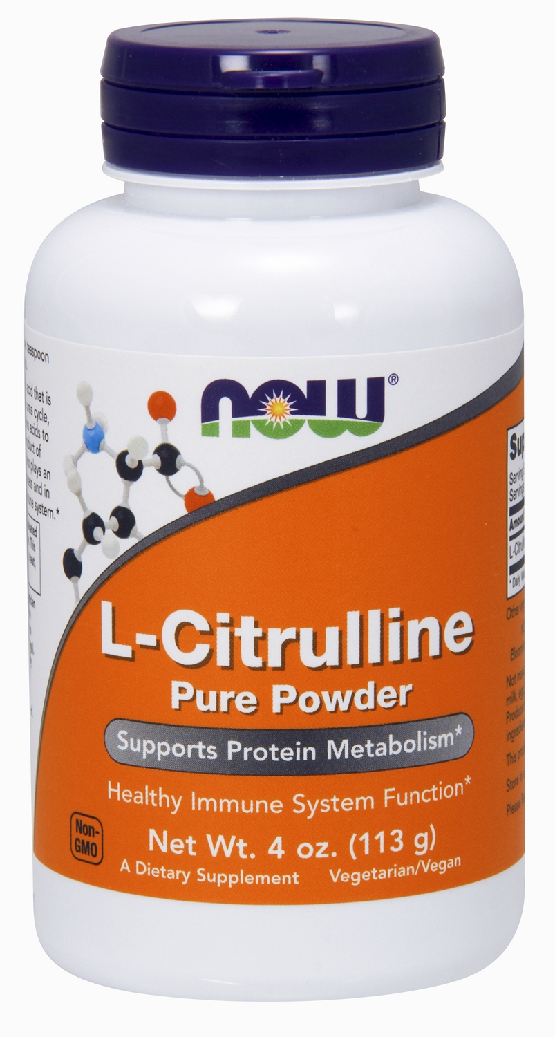 L-Citrulline 100% Pure Powder 4 oz (113 g) by NOW Foods