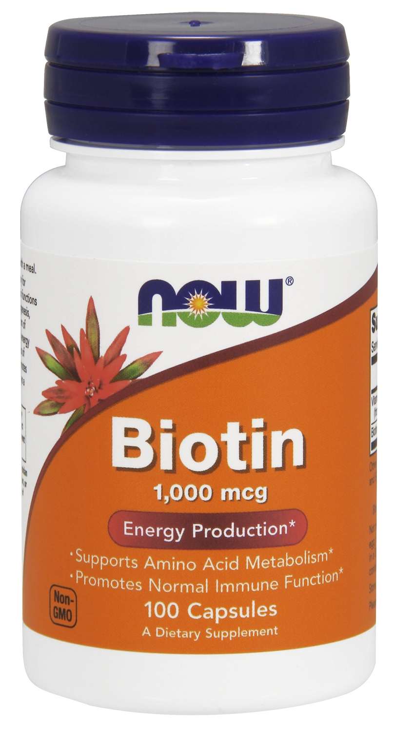 Biotin 1000 mcg 100 caps by NOW
