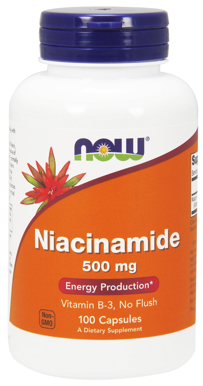 Niacinamide 500 mg 100 caps by NOW