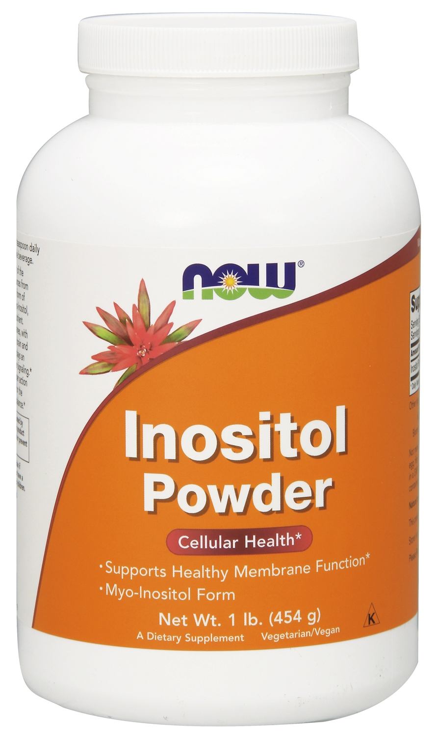 Inositol Powder 1 lb (454 g) by NOW Foods
