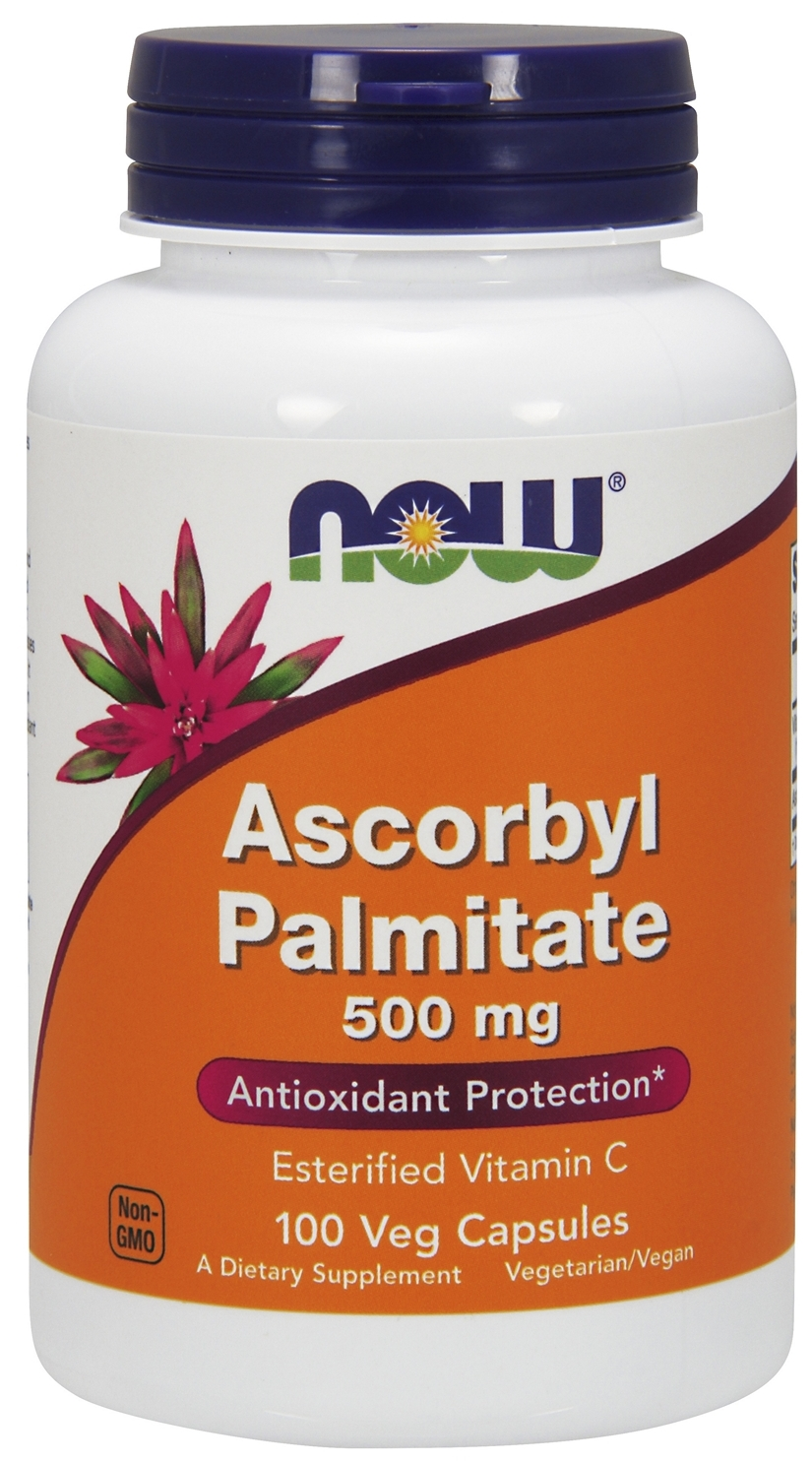 Ascorbyl Palmitate 500 mg 100 Vcaps by NOW