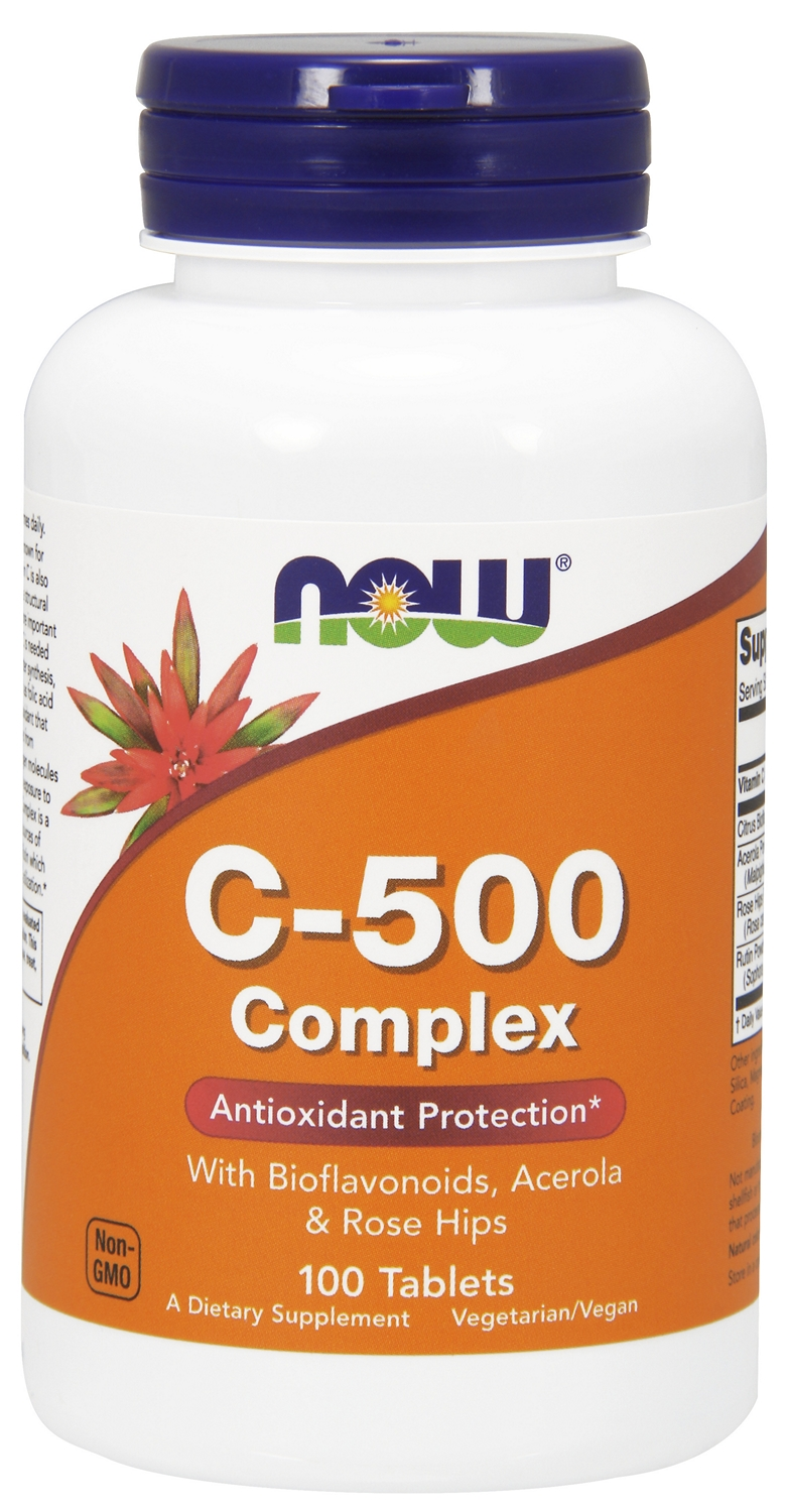 C-500 Complex 100 tabs by NOW Foods