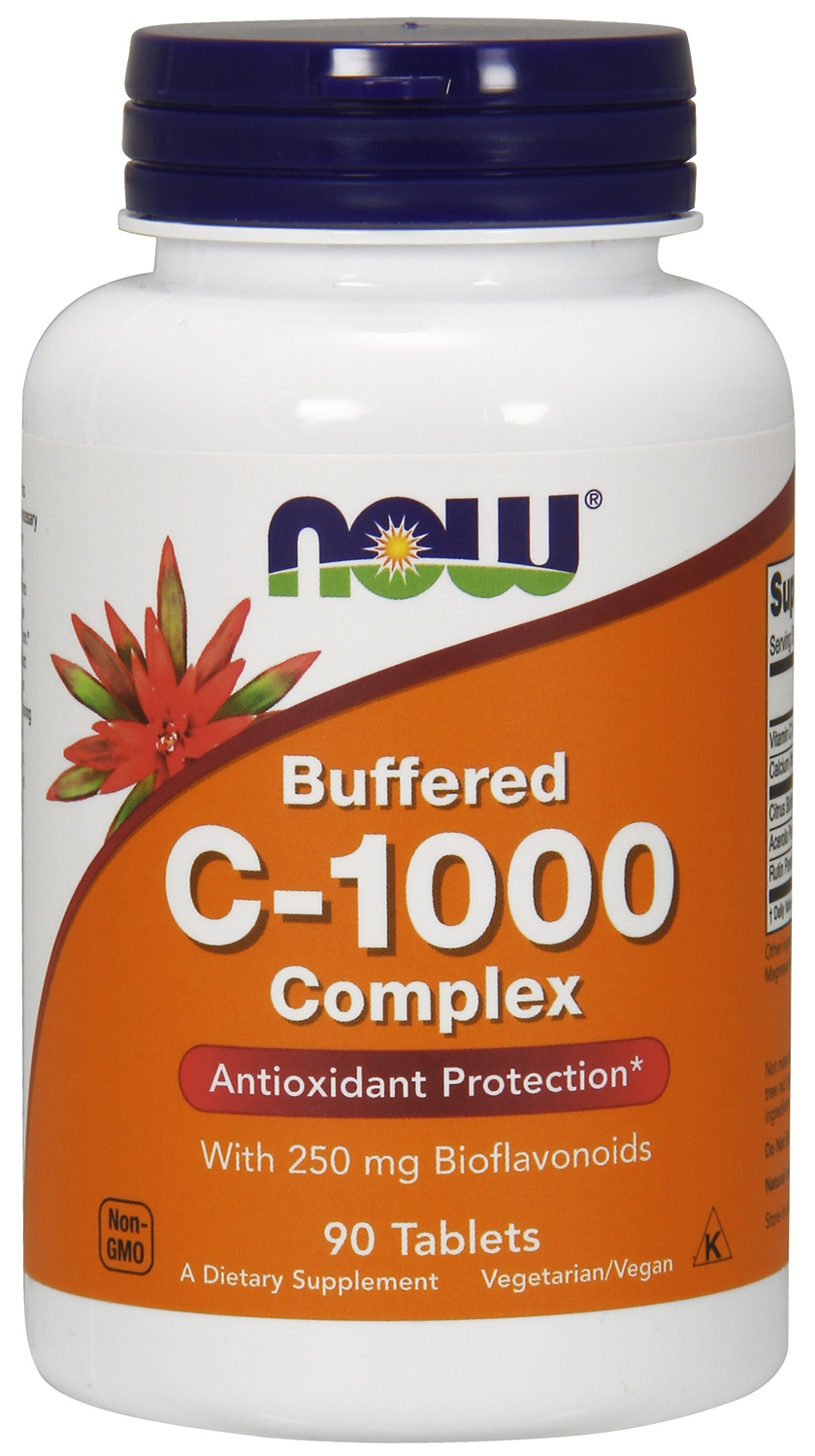 C-1000 Complex 90 tabs by NOW Foods