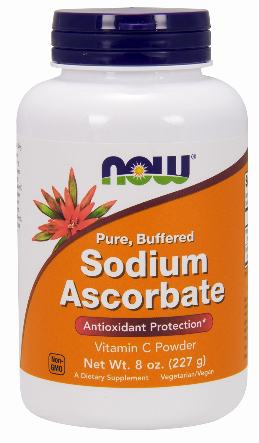 Sodium Ascorbate 100% Pure Powder 8 oz (227 g) by NOW Foods