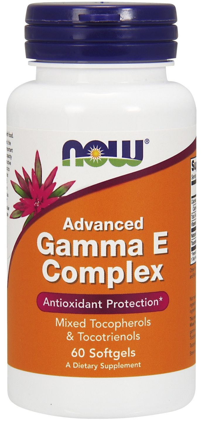 Advanced Gamma E Complex 120 sgels by NOW