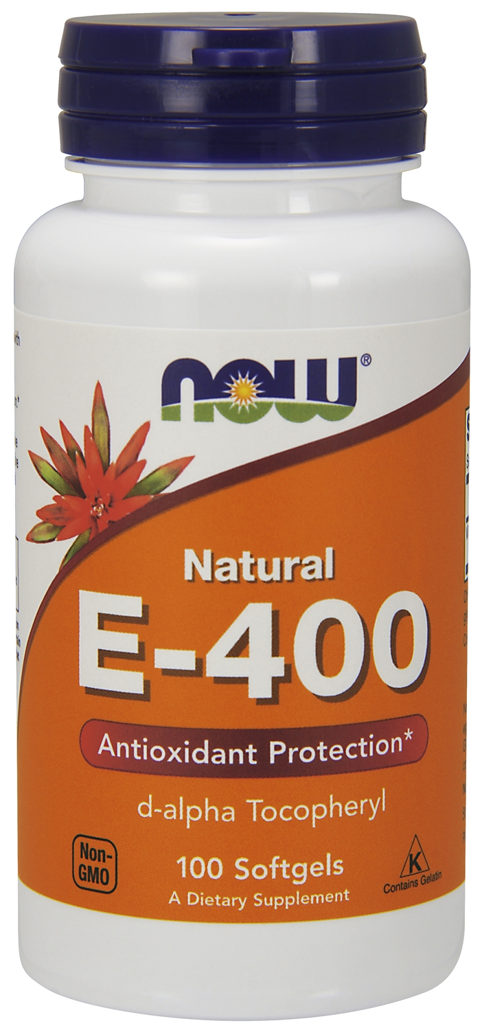 Vitamin E-400 IU Mixed Tocopherols 250 sgels by NOW
