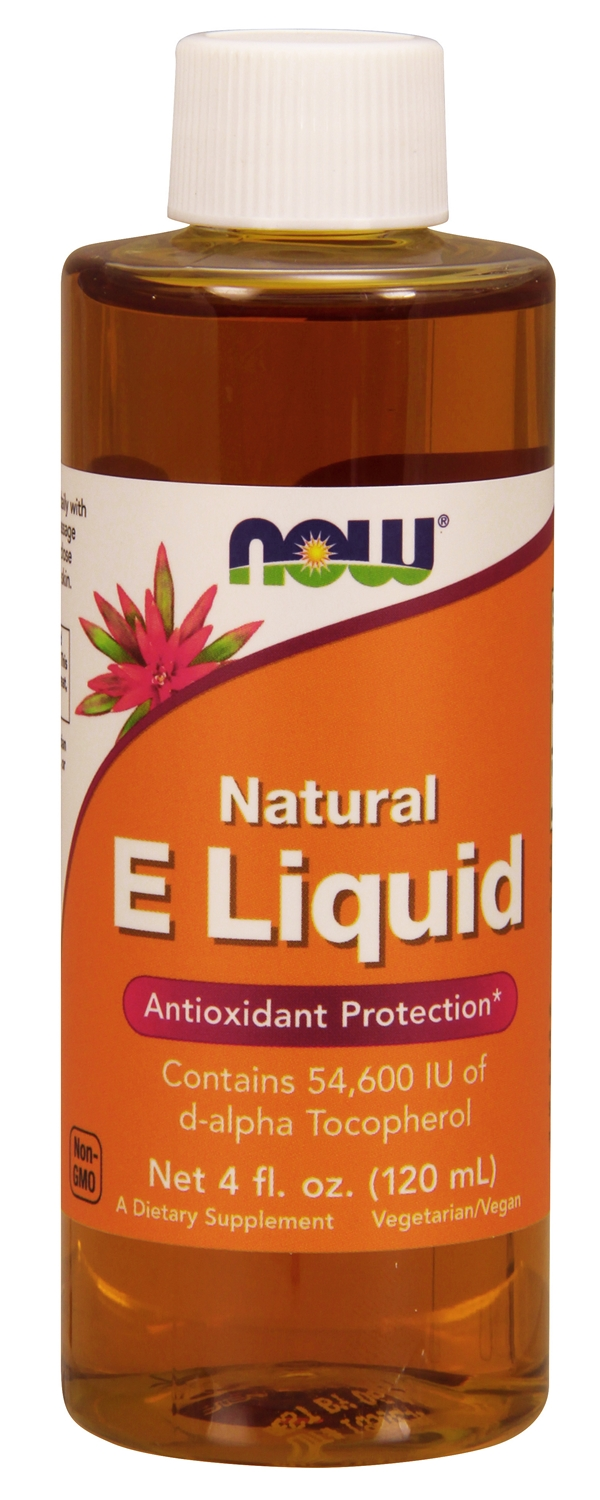Vitamin E Liquid 54,600 IU 4 fl oz (120 ml) by NOW