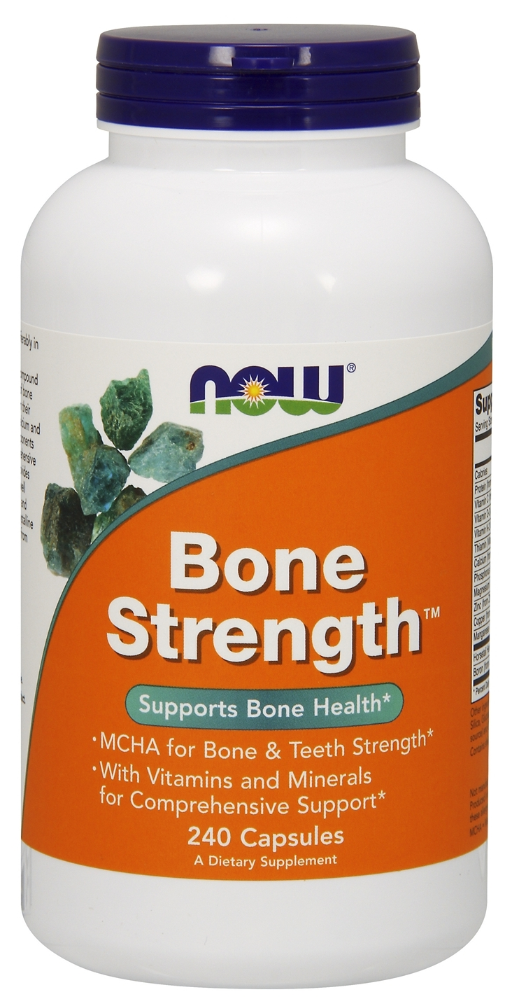 Bone Strength 240 caps by NOW