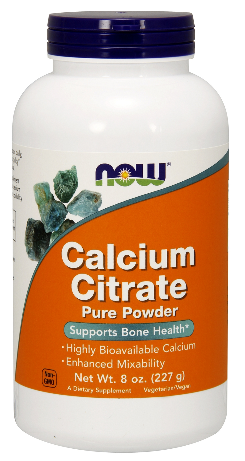 Calcium Citrate Powder 8 oz (227 g) by NOW