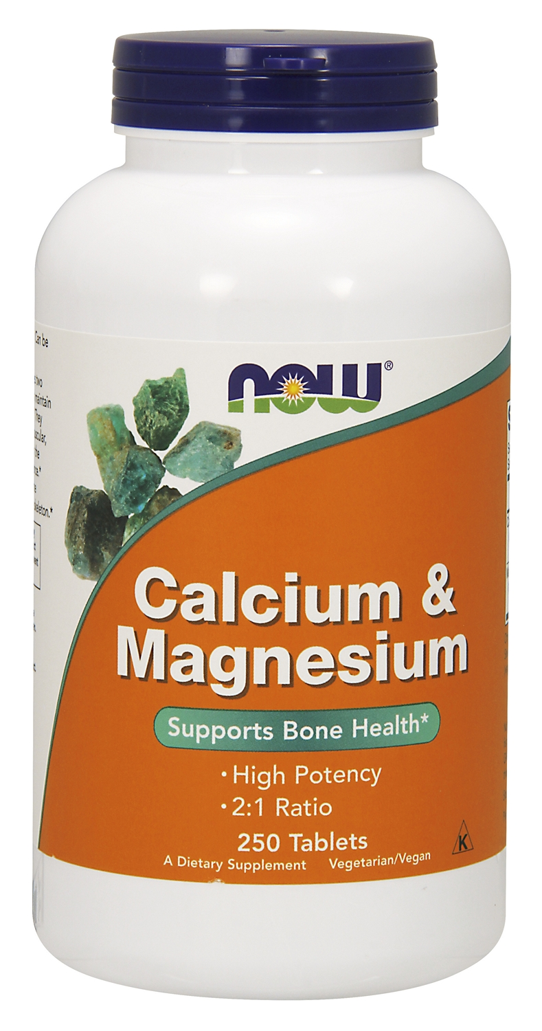 Calcium & Magnesium 250 tabs by NOW