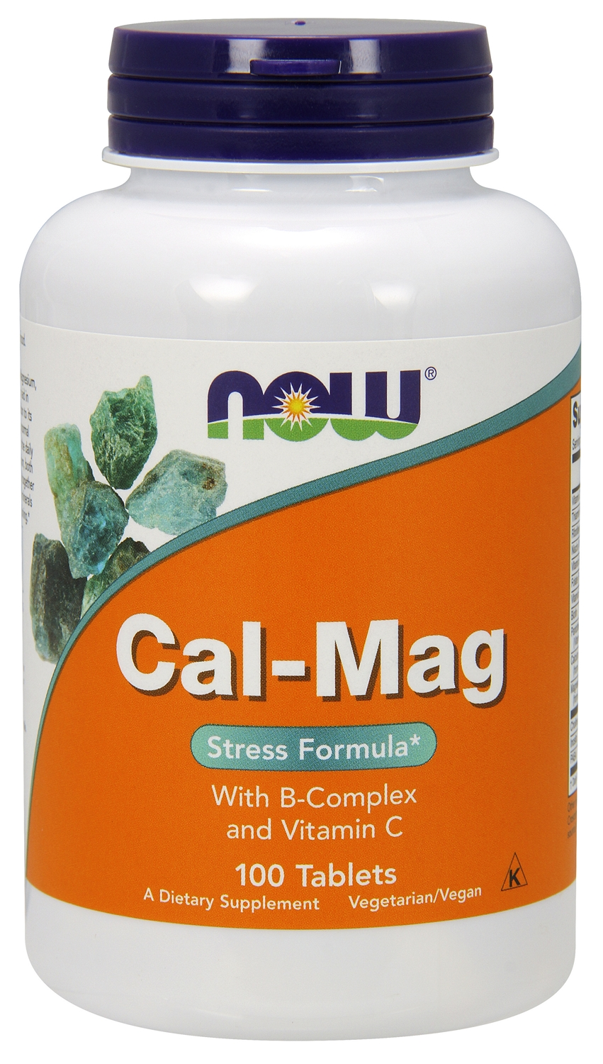 Cal-Mag Stress Formula 100 tabs by NOW