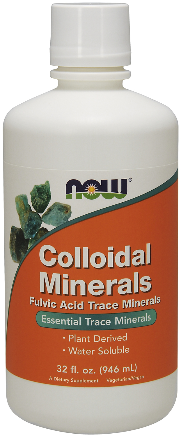 Colloidal Minerals 32 fl oz (946 ml) by NOW