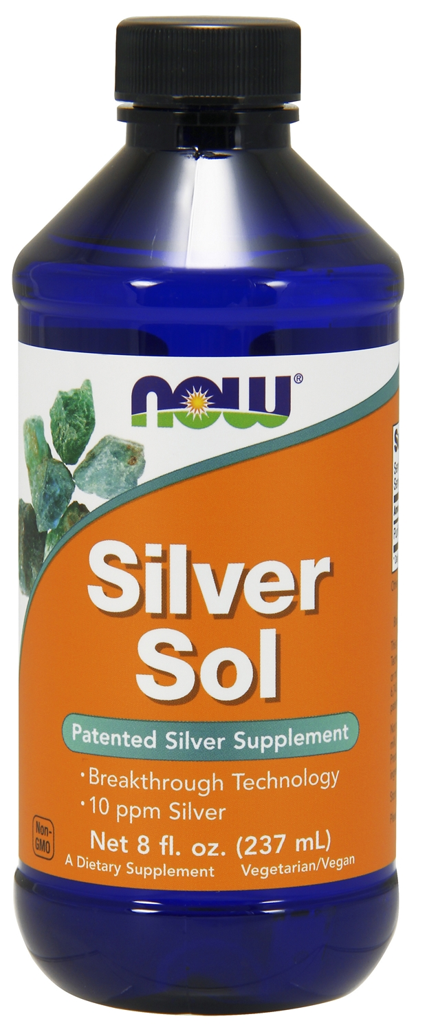 Silver Sol 8 fl oz (237 ml) by NOW Foods
