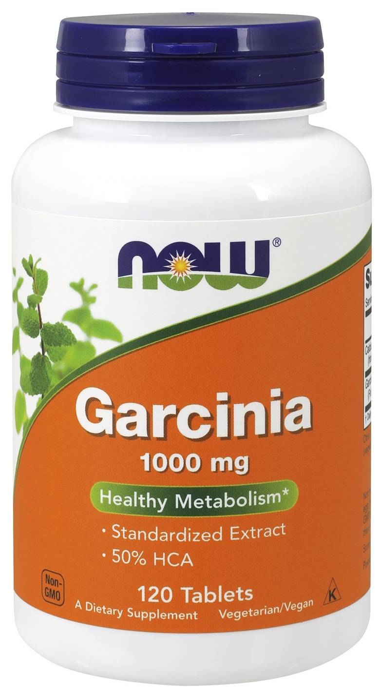 Garcinia 1,000 mg 120 tabs by NOW