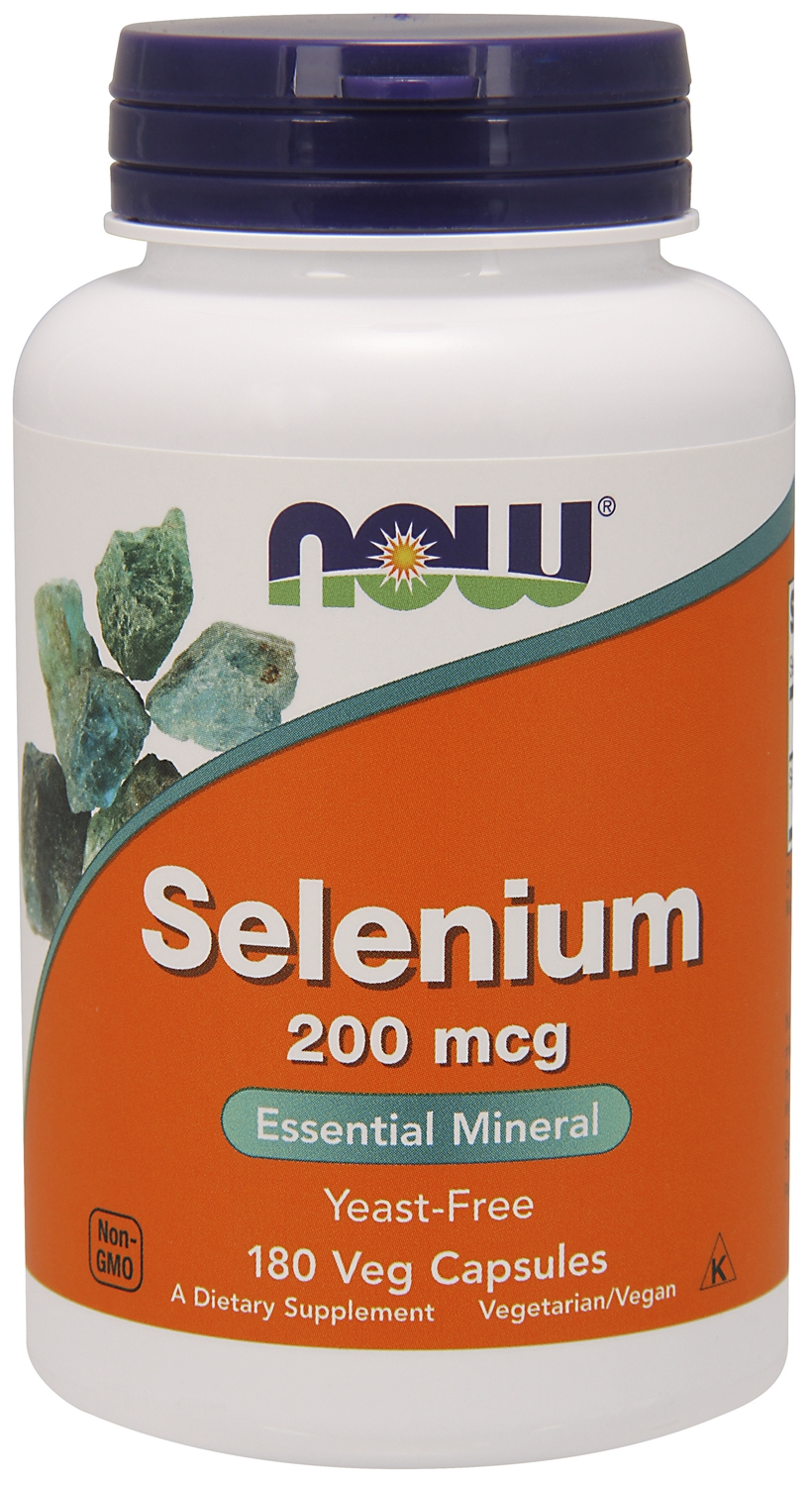 Selenium Yeast Free 200 mcg 180 Vcaps by NOW