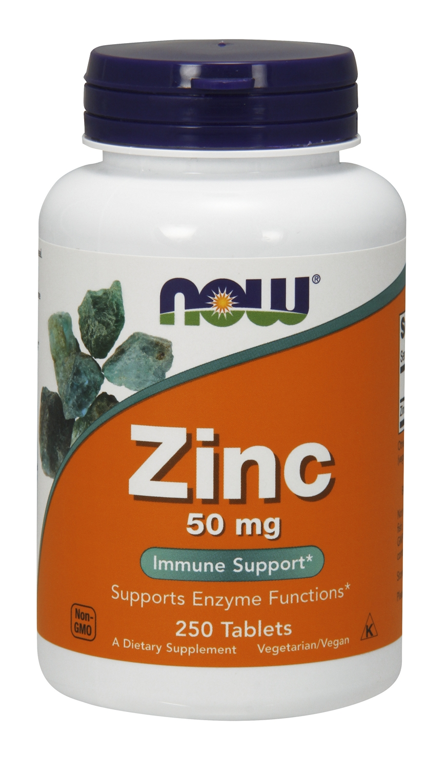Zinc 50 mg 250 tabs by NOW