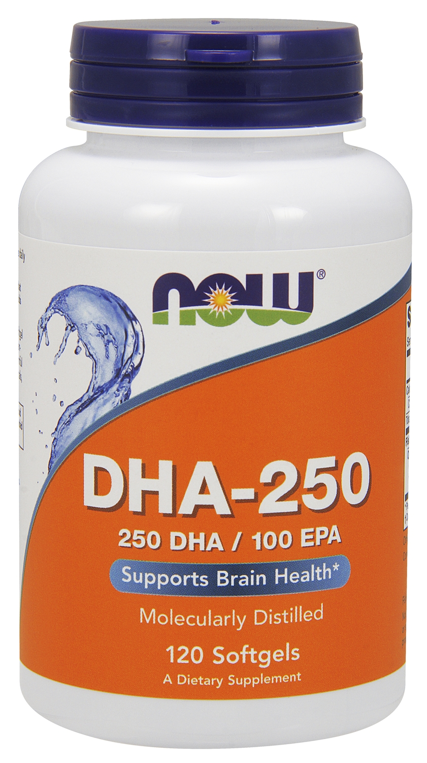 DHA-250 120 sgels by NOW