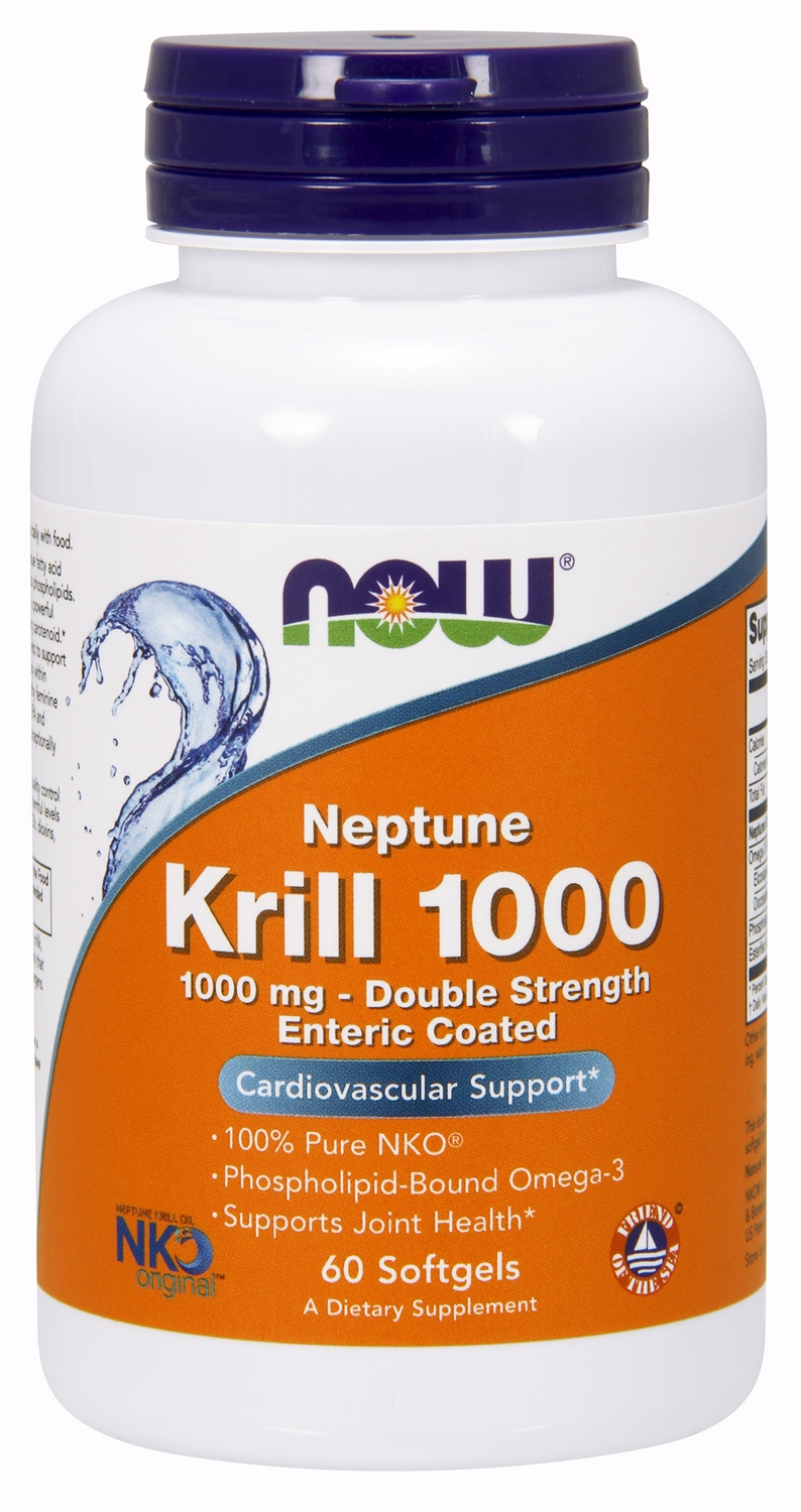 Neptune Krill Oil 1000 - 1,000 mg 60 sgels by NOW