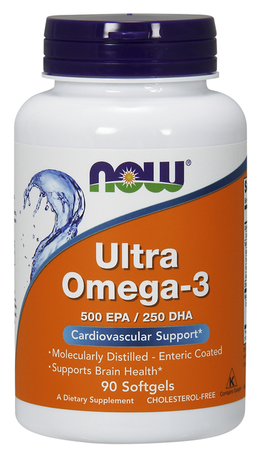 Ultra Omega-3 90 Softgels by NOW