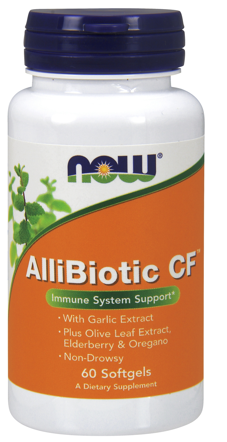Allibiotic Non-Drowsy CF 60 sgels by NOW