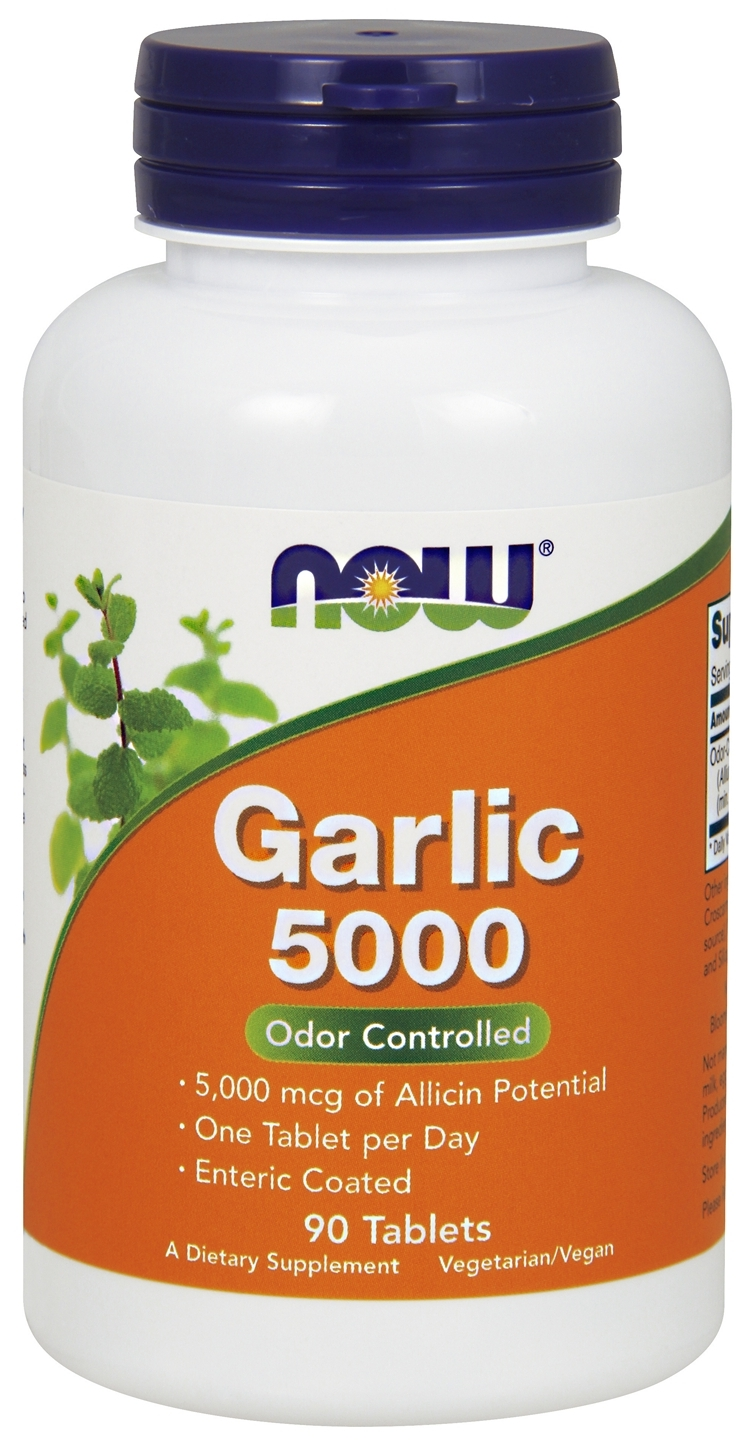 Garlic 5000 90 tabs by NOW Foods