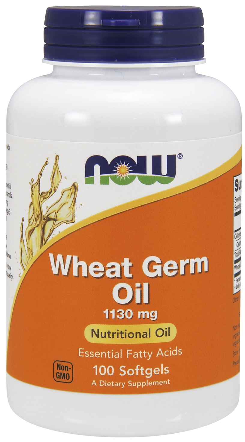 Wheat Germ Oil 20 Minims-1130 mg 100 sgels by NOW