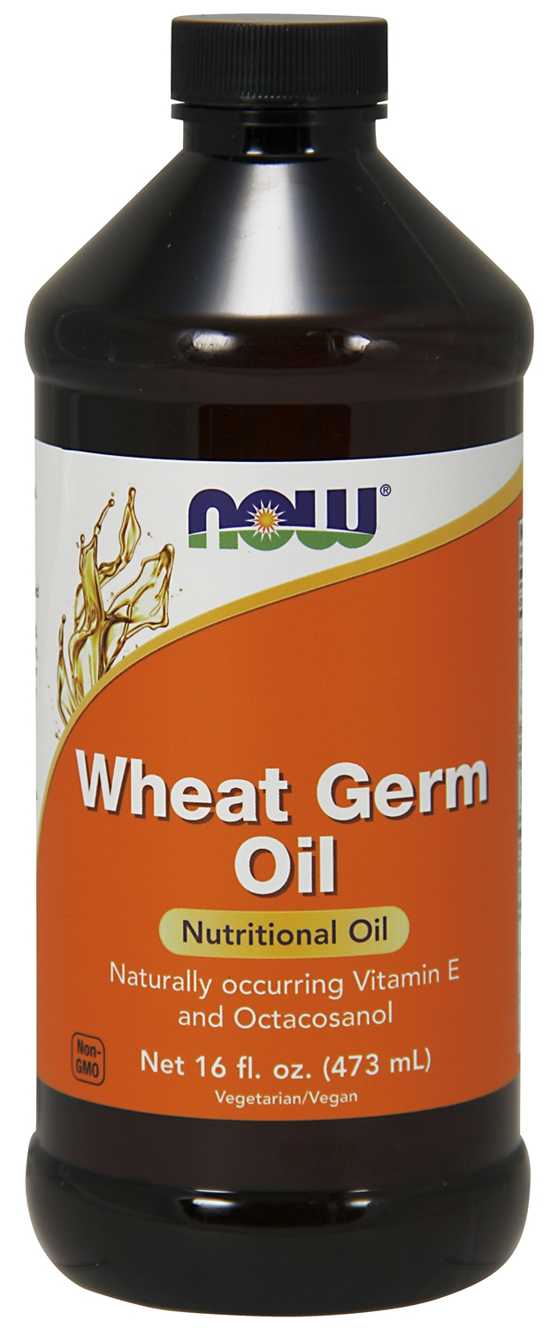 Wheat Germ Oil 16 fl oz (473 ml) by NOW
