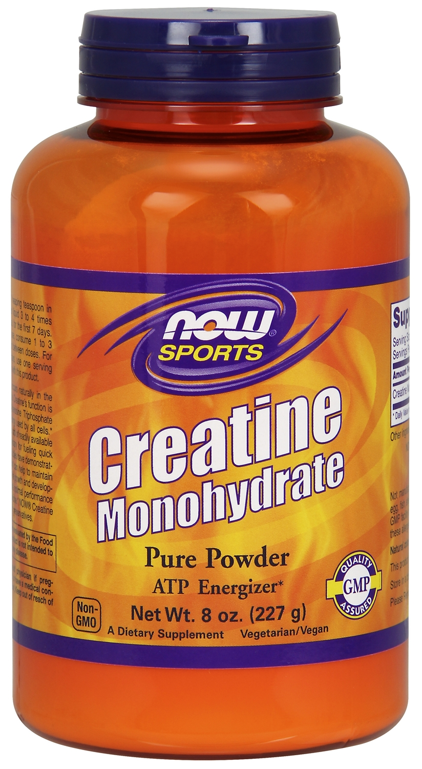 Creatine Monohydrate 8 oz (227 g) by NOW