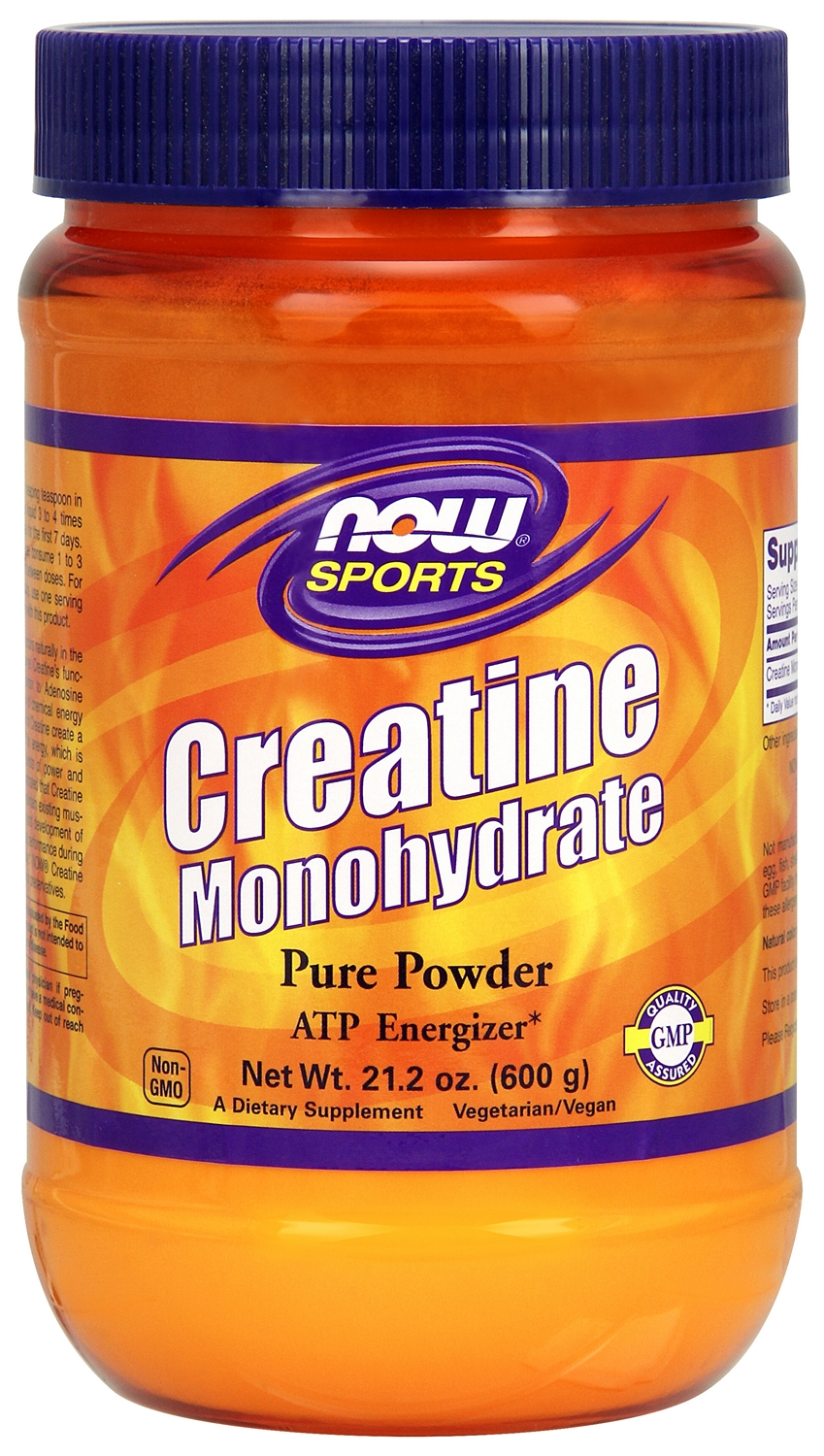 Creatine Monohydrate 21.2 oz (600 g) by NOW